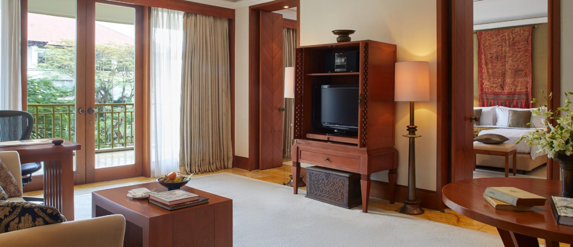 Dharmawangsa Suite Living Room