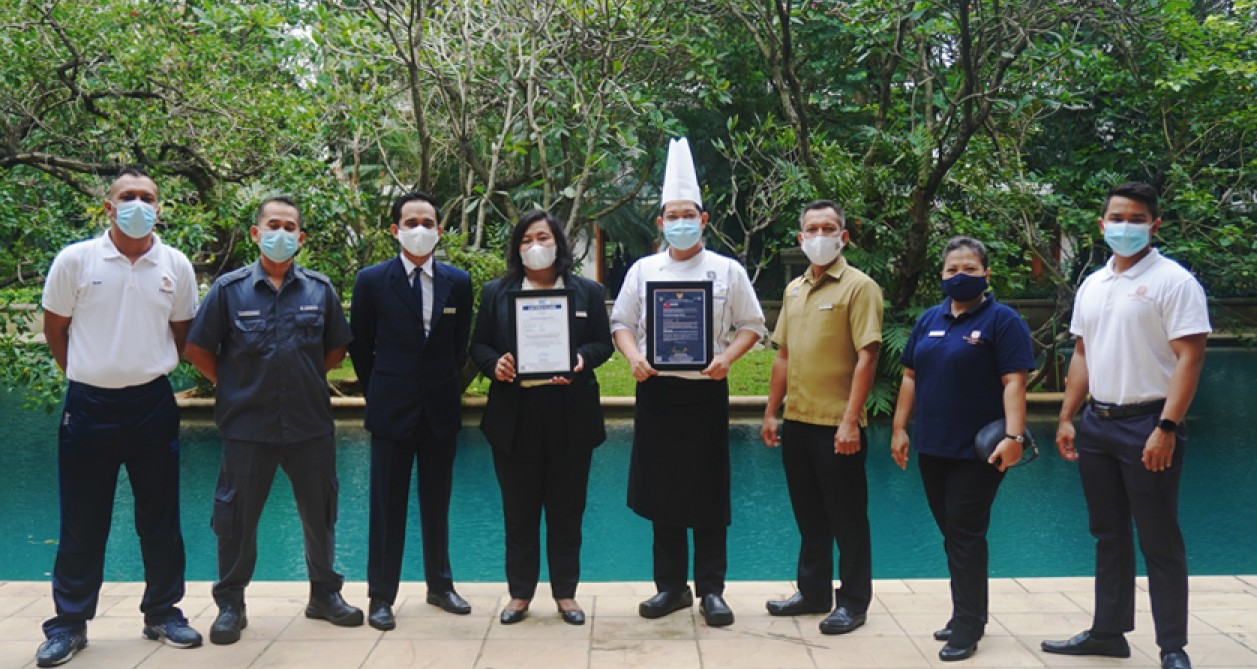 The Dharmawangsa Jakarta Awarded with CHSE (Clean, Health, and Safety & Environment) Certification Program 2021