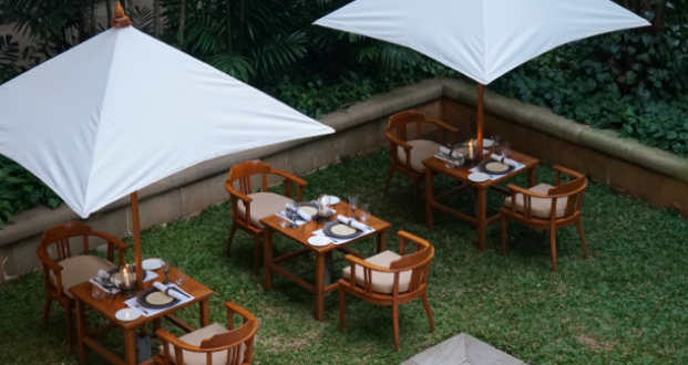 The Townhouse Suite, the perfect open-air private dining