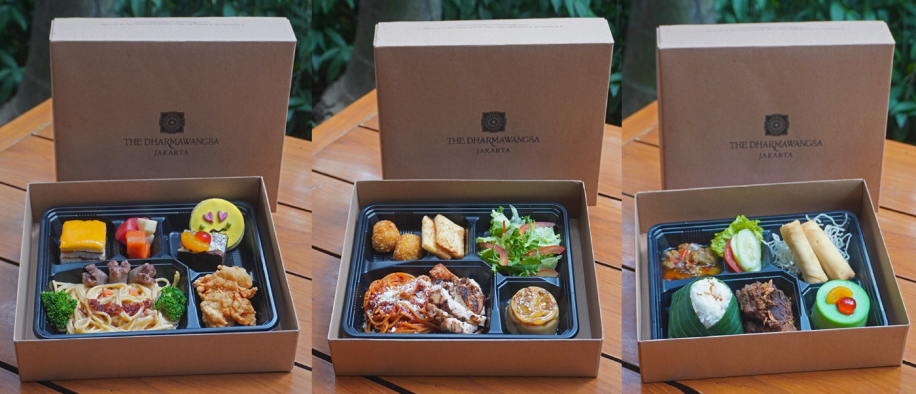 The Dharmawangsa To-Go and Meal Box